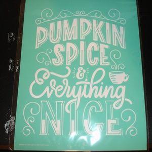 Pumpkin Spice Chalk Couture NIP